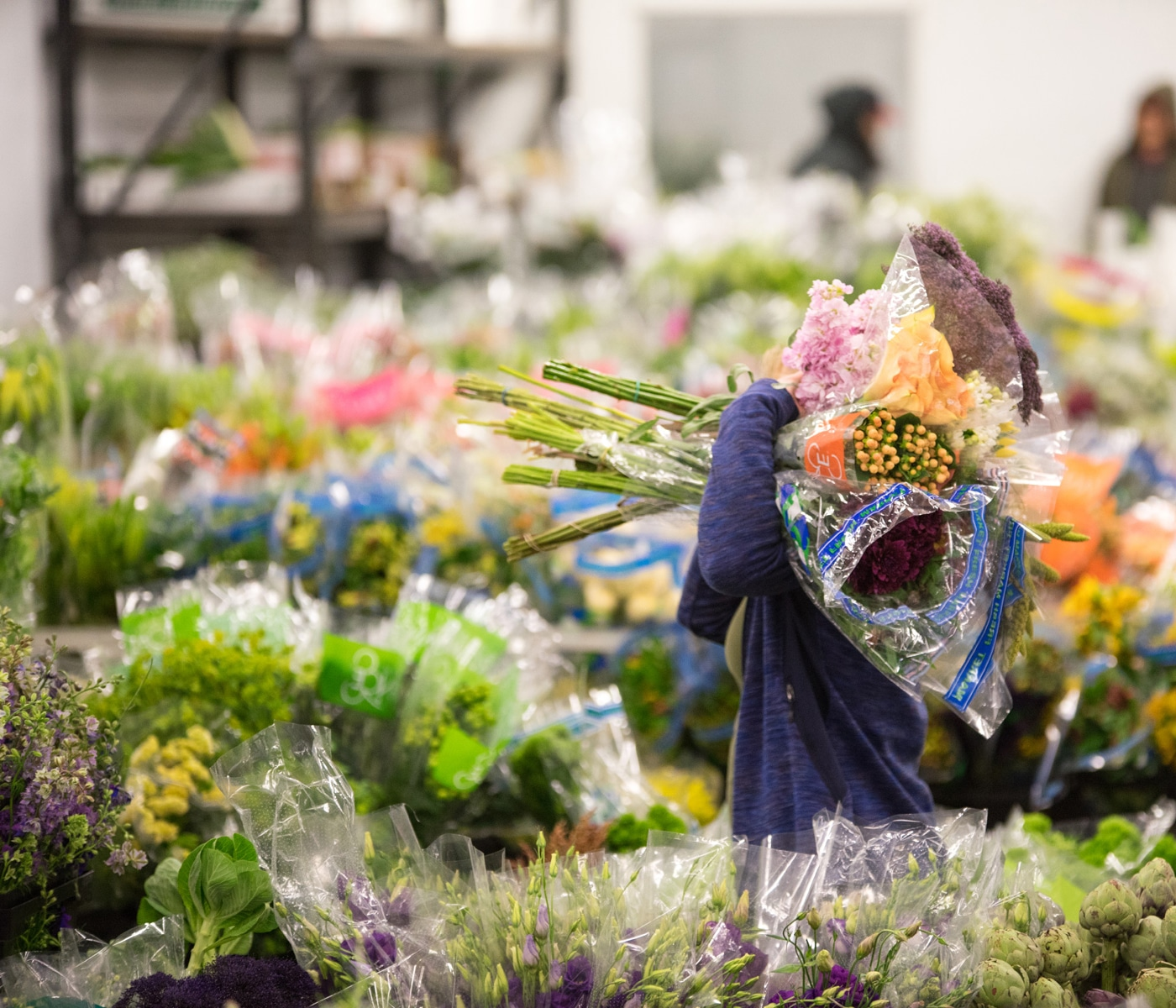 Locally crafted flowers in the heart of Chicago