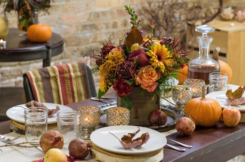 Fall arrangement from Flowers for Dreams
