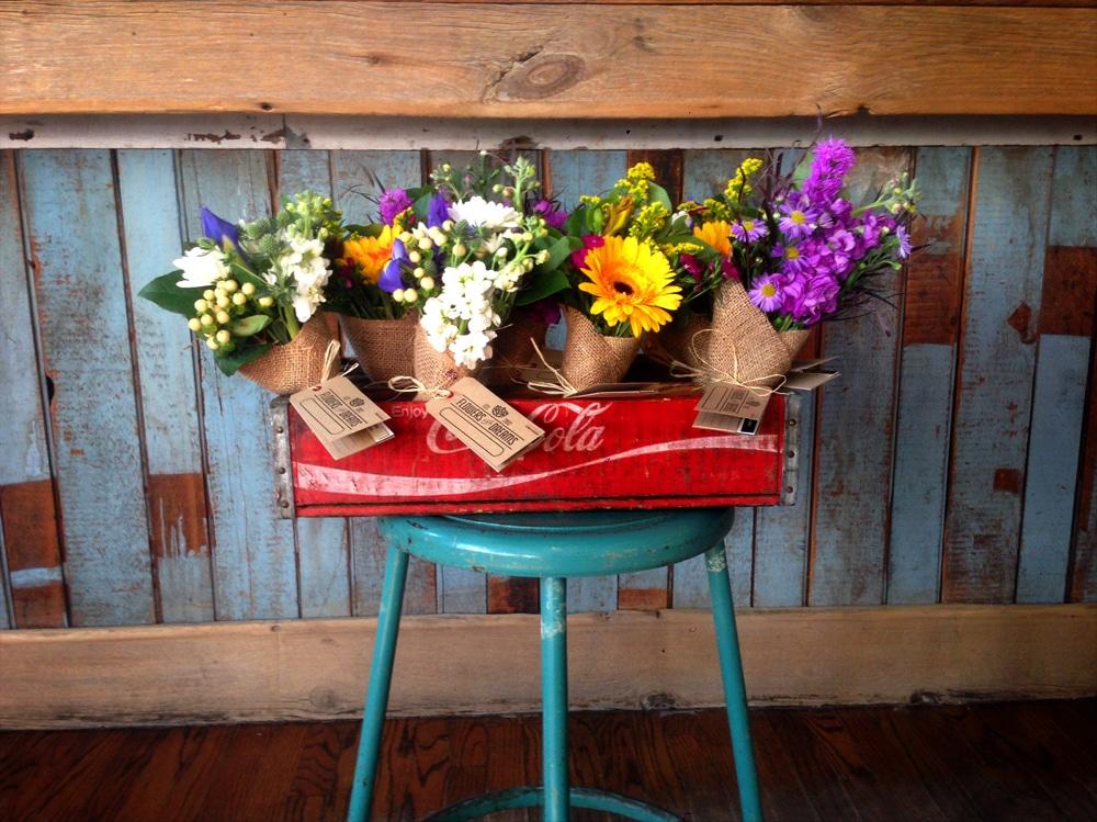 Flowers for Dreams display