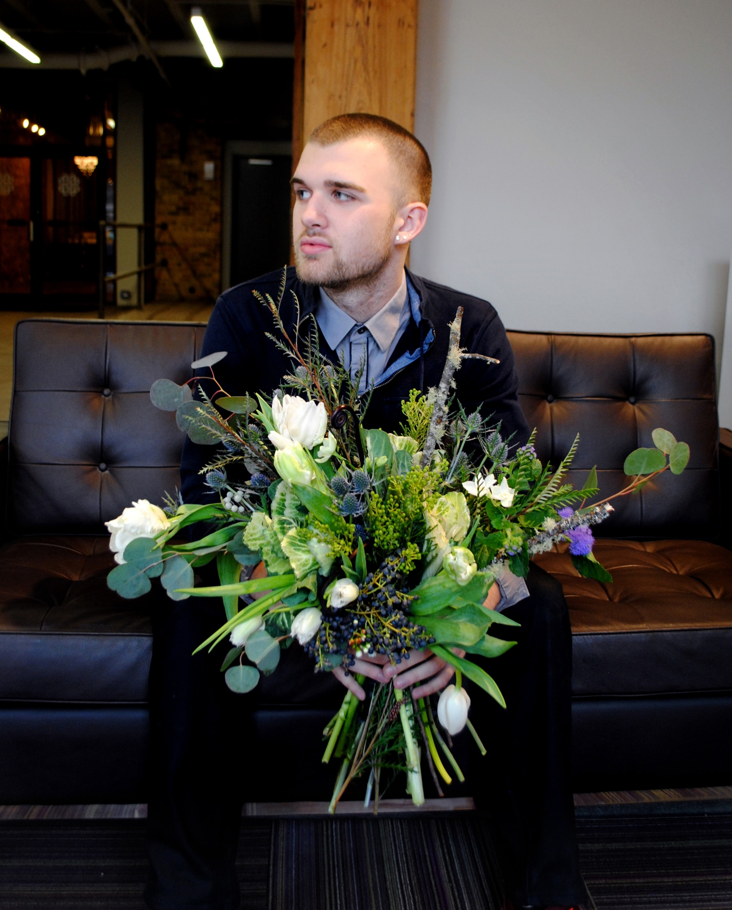 Hayden Regina, a floral designer at Flowers for Dreams