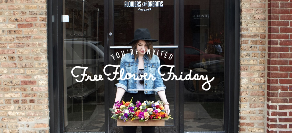 Free Flower Friday Invitiation