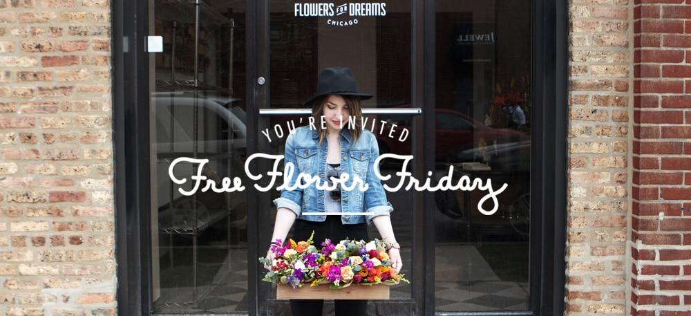 Free Flower Friday Invitiation