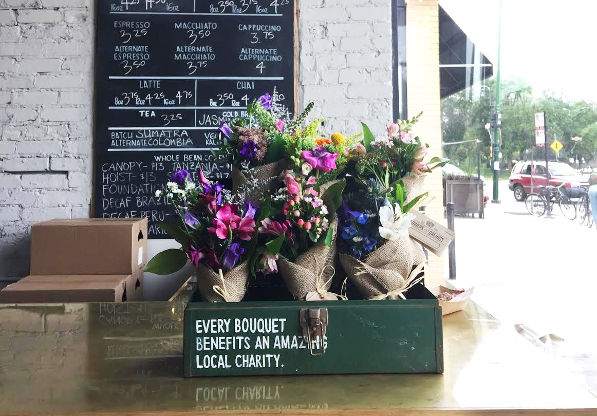 You can now purchase our flowers at participating Bowtruss Coffee shops