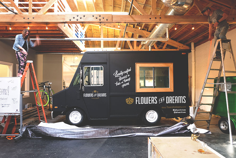 flowers for dreams truck